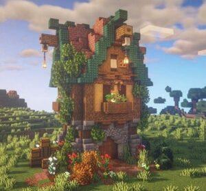 Сообщество с красивыми постройками в Minecraft